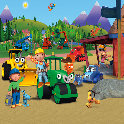 Bob the builder sm68 studio wallcoverings services for Bob the builder wall mural