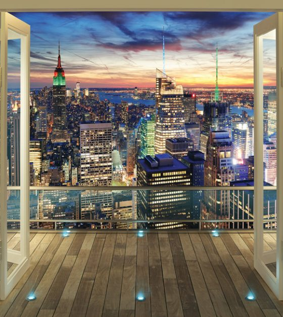 New York Skyline SM106
